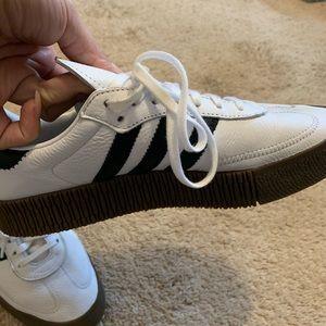 adidas Shoes - Adidas white and black samba sneakers